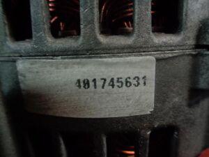 Генератор на Renault Master Номер/маркировка: SG12B071