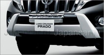 Накладка на бампер на Toyota Land Cruiser Prado во Владивостоке