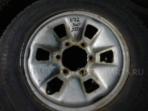 Шины Bridgestone R600 195/80R15.5LT8P летние на дисках Japan R15