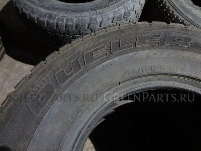 шины Bridgestone dueler H/L 265/70R16112S всесезонные