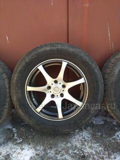 Летнии колеса Bridgestone Dueler h/t 687 235/60 16 дюймов Sakura wheels б/у во Владивостоке