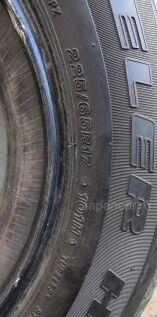 Летнии шины Bridgestone Dueler h/t 687 225/65 17 дюймов б/у в Хабаровске