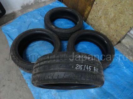 Летниe шины Bridgestone Ecopia pz-x 215/45 17 дюймов б/у в Барнауле