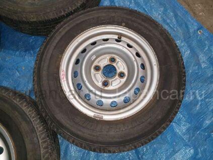 Летнии колеса Bridgestone V600 165/- 13 дюймов Toyota б/у в Барнауле