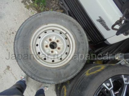 Летнии шины Bridgestone 195/- 14 дюймов б/у во Владивостоке