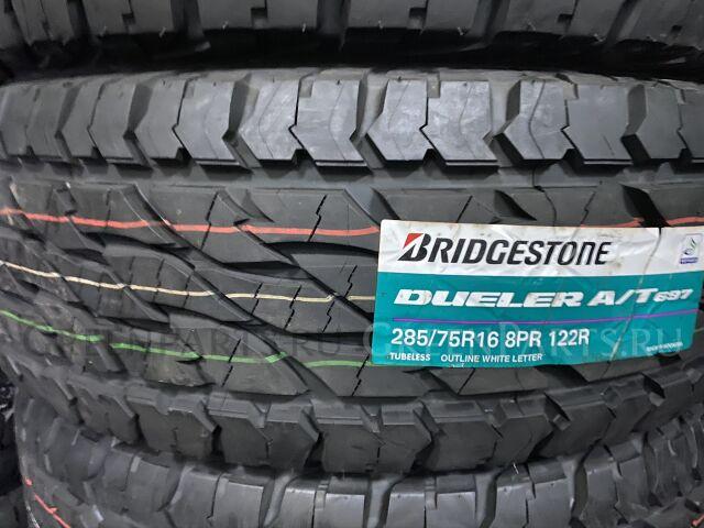 шины Япония Bridgestone Dueler A/T 697 285/75R16 грязевые