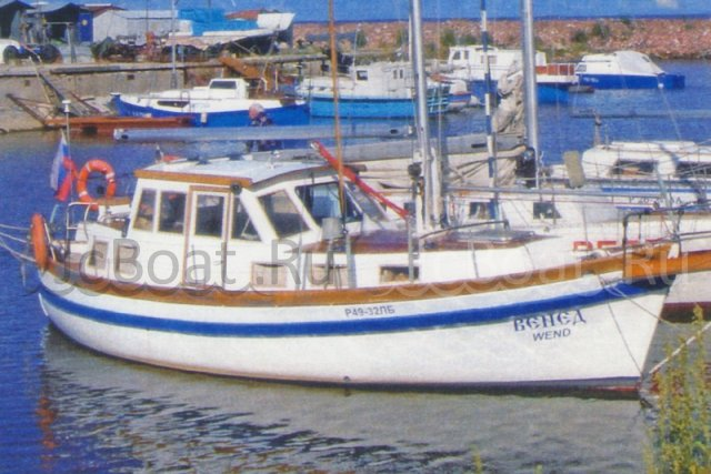 яхта парусная A & R WEND KUTTER 2003 года