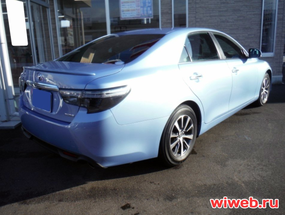 TOYOTA MARK X 2017