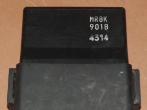 Коммутатор на HONDA RVF400