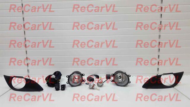 Туманка на Toyota Vitz KSP90, NCP91, NCP95, SCP90