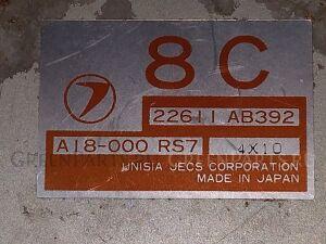 Компьютер на Subaru Legacy BG5 EJ20 22611AB392