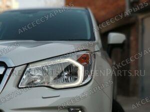 Дневные ходовые огни на Subaru Forester SJ, SJG
