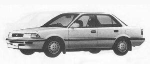 TOYOTA COROLLA 1990 г.