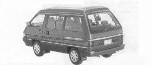 TOYOTA TOWNACE 1991 г.