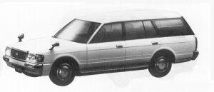 TOYOTA CROWN 1991 г.