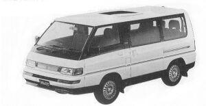 MITSUBISHI DELICA 1992 г.