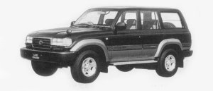 TOYOTA LAND CRUISER 1996 г.