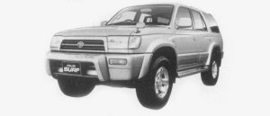 TOYOTA HILUX SURF 1996 г.