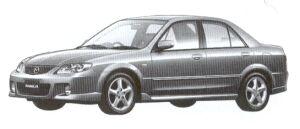MAZDA FAMILIA 2002 г.