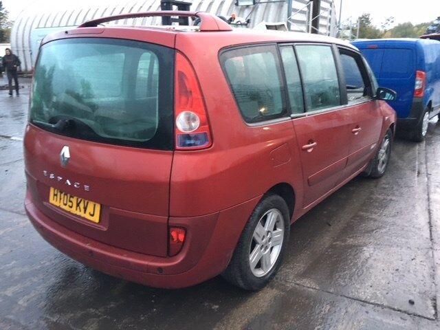 Генератор на Renault Espace 4 2002- номер/маркировка: Valeo 155A 254289C