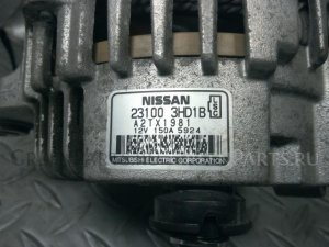 Генератор на Nissan Note E12 HR12DDR