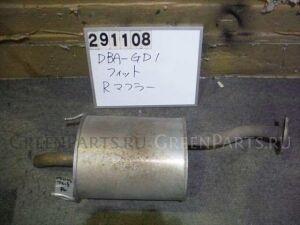 Глушитель на Honda Fit GD1 L13A