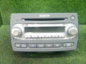 Автомагнитофон на Toyota Sienta NCP81G 1NZ-FE