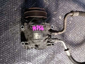 Компрессор кондиционера на Honda Fit GD1 L13A HS-080R